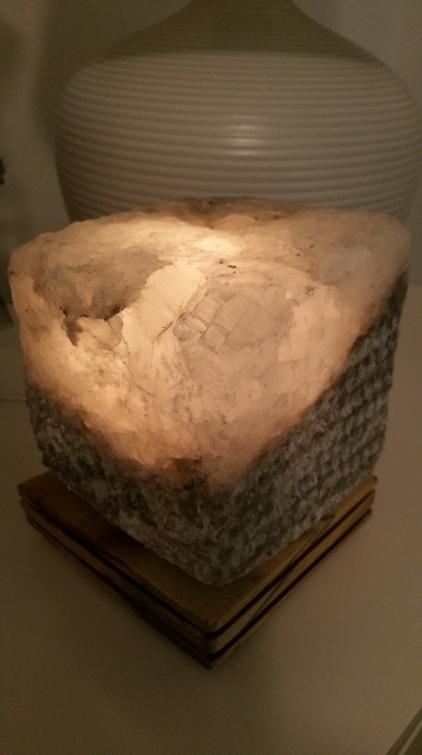 Çankırı kaya tuzu lambası