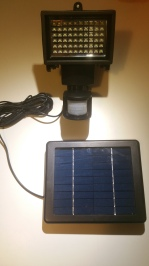 Hareket sensörlü güneş enerjili led lamba hakankonyar.com